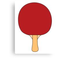 Ping Pong Paddle Canvas Print