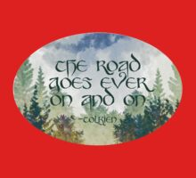 The Road Goes Ever On Kids Clothes