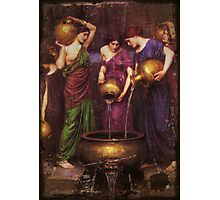 Danaides and the Leaking Vessel Photographic Print