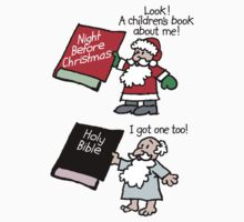 God & Santa Children's Books by atheistcards