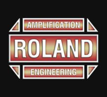 Roland Amplification Engineering decoration Clothing & Stickers  by goodmusic