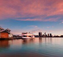 Perth City - Sun Up by Gormaymax