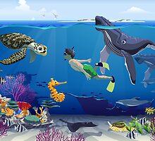 Underwater explorer by Darrell White