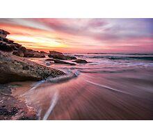 Tamarama Sunrise Photographic Print