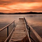 Sunset jetty  by Robert-Todd