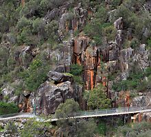 Cataract Gorge by Margot Kiesskalt