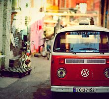 VW volkswagen van by MariaDesign