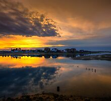 Ilha da Faro Sunset by manateevoyager