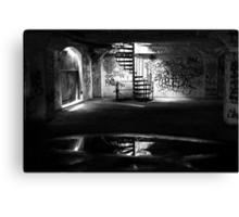Basement Canvas Print