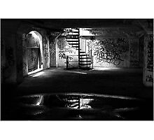 Basement Photographic Print