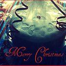 Christmas cake photo card by Annie Japaud