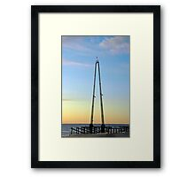 Skycoaster - Rising From the Ashes Framed Print
