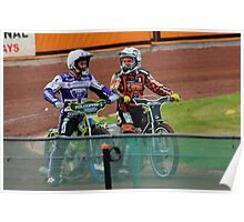 Speedway Troy and Tai Poster