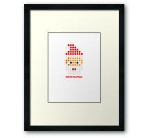 PIXEL8 | Merry Craftmas Framed Print