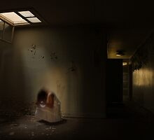 In the abandoned asylum (long exposure) by UpNorthPhoto