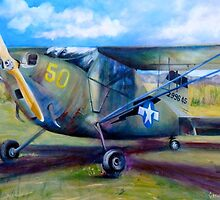 Stinson L-5 by Cathy Gilday