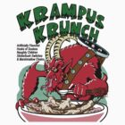Red Krampus Krunch by monsterfink