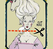 CUT HERE by Melusine Mainville