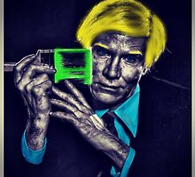 Painted PopArt King by appfoto