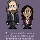 Sleepy Hollow: Imagine The Deliquency (card) by redscharlach