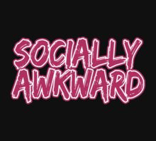 Pink Socially Awkward by lonelycreations