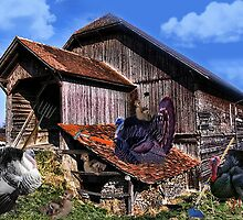*´¯`♥ღTURKEYS WORKING DOWN NEAR THE BARN BABY TURKEYS PLAYING*´¯`♥ღ by ╰⊰✿ℒᵒᶹᵉ Bonita✿⊱╮ Lalonde✿⊱╮