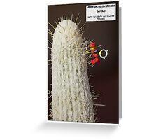 Cactus Climb Greeting Card