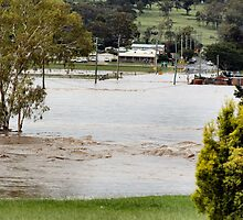 Condamine in Flood by terrywest