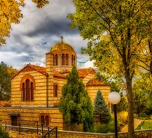 Autumn at Holy Cross Greek  by LudaNayvelt