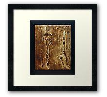 Rain Walker Framed Print