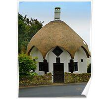 Lyme Regis Cottage Poster
