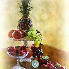 Fruit Still Life by Irene  Burdell