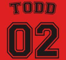 Jason Todd Sports Jersey by krowe