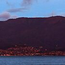 Mt Wellington dawn panorama - Hobart, Tasmania, Australia by PC1134