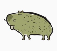 capybara by greendeer