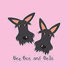 Bee Bee & Bella – Pretty on Pink (iPad) by BonniePortraits