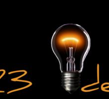 5123 ideas lamp Sticker