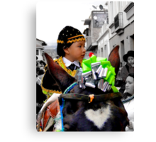 Cuenca Kids 362 Canvas Print