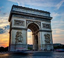 Arc De Trimphe 3 by John Velocci