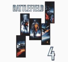 BattleField 4 shirt by Steelgear24