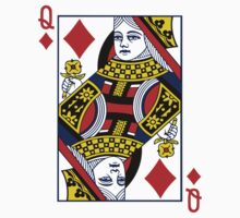Queen Of Diamonds by ZedEx