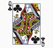 Queen Of Clubs by ZedEx