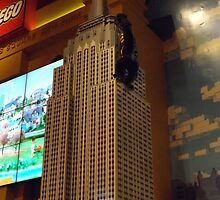 Lego Empire State Building, Toys R Us, Times Square, New York City by lenspiro