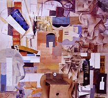 Vortex Cubist Cello. by - nawroski -
