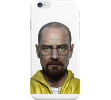 walter white head breaking bad iPhone Case/Skin