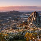 Cathedral Dusk - Mount Buffalo, Victoria, Australia. by Sean Farrow
