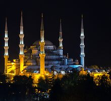 Blue Mosque (Sultanahmet) by Baki Karacay