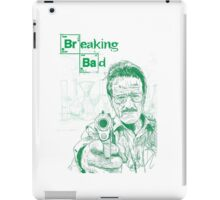 walter white gun breaking bad iPad Case/Skin