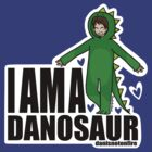 I AM A DANOSAUR by DoodlesByAdzie