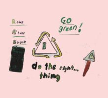 Mia - Recycling T by class3F
